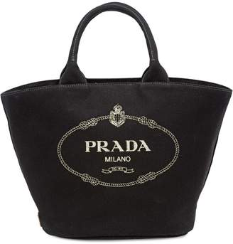 8a4407997f88 ... where to buy at farfetch prada fabric handbag fd4bd 1a10c