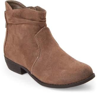 Rachel Kids Girls) Taupe Delia Ankle Booties