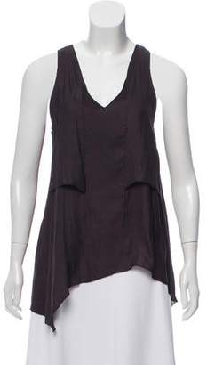 Rag & Bone Sleeveless Asymmetrical Top