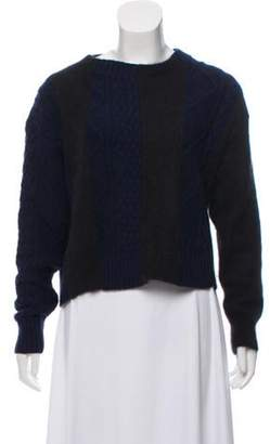 Sacai Luck Heavyweight Knit Sweater Blue Luck Heavyweight Knit Sweater
