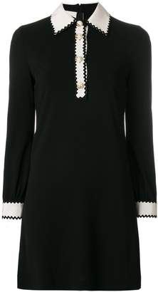 Gucci button placket dress