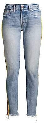 Polo Ralph Lauren Women's Avery Racing Stripes Boyfriend Jeans