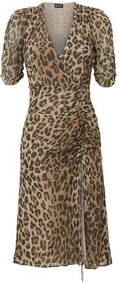 Nicholas Leopard Tea Dress