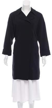 Elizabeth and James Knee-Length Oversize Coat