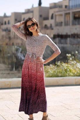 Daniella Faye Sequin Maxi Dress