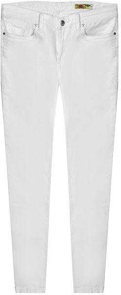 Blank Jeans White Zipper Ankle Jean