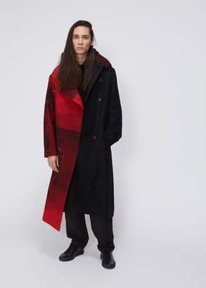 Yohji Yamamoto Flannel Coat