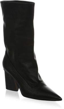 Paul Andrew Judd Leather Slouchy Booties