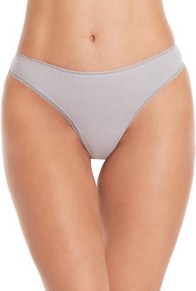 Betsey Johnson 3-Pack Cotton Thong