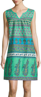 Asstd National Brand Knit Pattern Nightgown