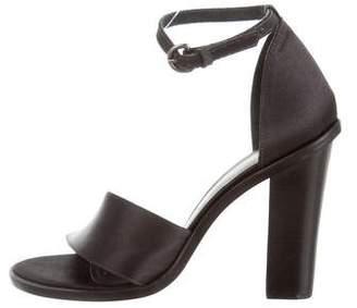 Tibi Satin Palma Sandals