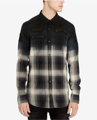 Buffalo David Bitton Men's Slim Fit Plaid Silvont Shirt