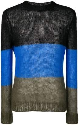 Walter Van Beirendonck sheer sweater