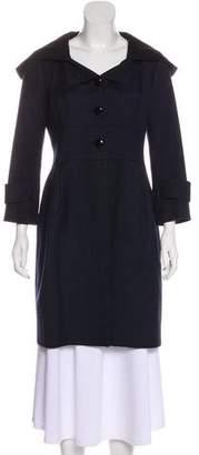 Robert Rodriguez Wool Knee-Length Coat