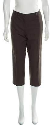 Miu Miu Virgin Wool Straight-Leg Pants