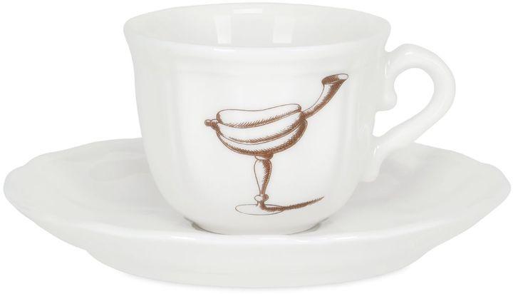 Fruit Bichierografia Coffee Cup & Saucer
