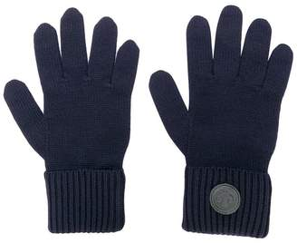 DSQUARED2 logo plaque gloves