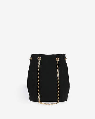 564fdce97f Express Chain Handle Bucket Bag