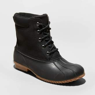 Universal Thread Women's Amaya Faux Leather Duck Fashion Boots