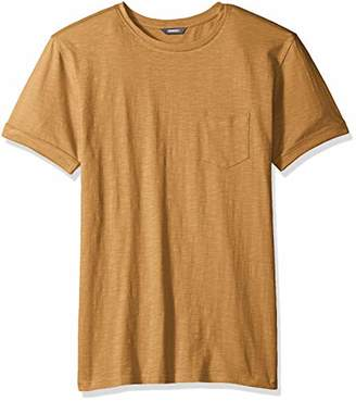 ROBUST Men's Front Pocket Round Neck T-Shirt (Size-)