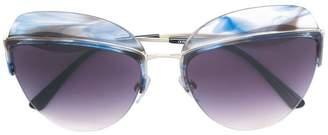 Giorgio Armani oval sunglasses