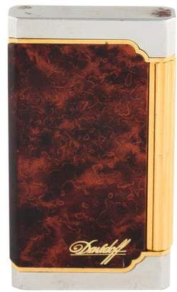 Davidoff Wood Paneled Cigar Lighter