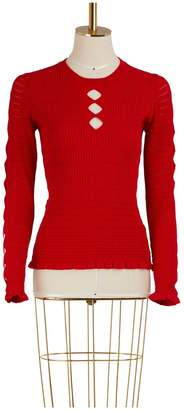 Kenzo Sweater with ruffles