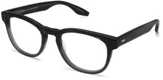 Barton Perreira Men's Byron Universal Fit Square Optical Frames, Matte Turtle Dove