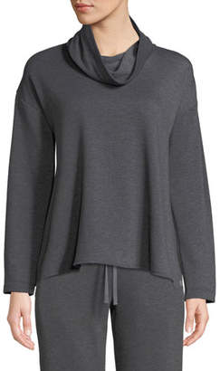 Natori Cocoon Cowl-Neck Lounge Top