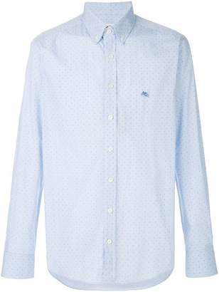 Etro patterned button down shirt
