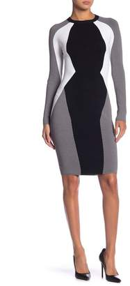 KENDALL + KYLIE Kendall & Kylie Bodycon Illusion Dress