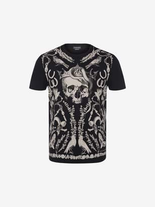 Alexander McQueen Treasure Skull T-Shirt