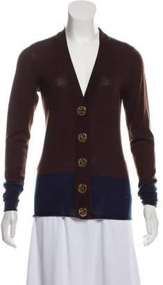 Tory Burch Lightweight Wool Cardigan