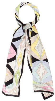 Emilio PucciEmilio Pucci Abstract Silk Scarf
