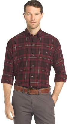 Arrow Men's Saranac Regular-Fit Plaid Flannel Button-Down Shirt
