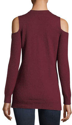 MICHAEL Michael Kors Long-Sleeve Cold-Shoulder Tunic