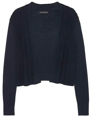 f63ff73413 Banana Republic Silk Cotton Cropped Cardigan Sweater