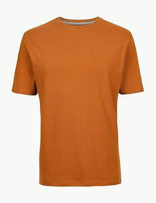 "Marks and Spencer Pure Cotton T-Shirt with Cool Comfortâ""¢"