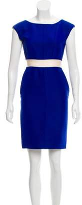 Balenciaga Bateau Neck Silk-Blend Dress Bateau Neck Silk-Blend Dress