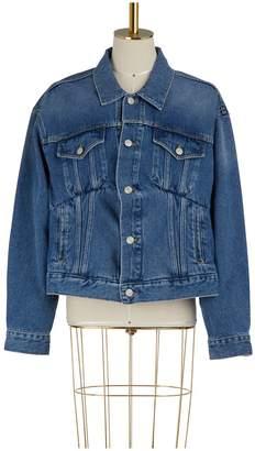 Balenciaga Swing collar denim jacket