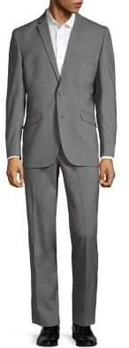 Kenneth Cole Reaction Glen Plaid Stretch Suit