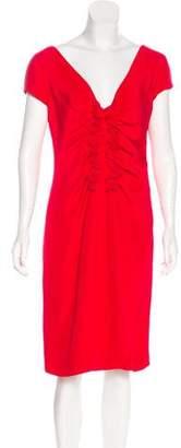 Valentino Silk-Blend Cocktail Dress