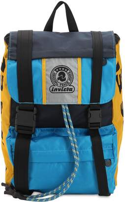 Diesel Invicta Nylon Canvas Backpack