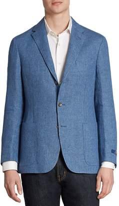 Ralph Lauren Men's Morgan Yale Regular-Fit Linen & Wool Sportcoat