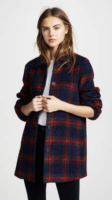 Velvet Colette Plaid Jacket
