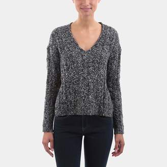 Line Rowen Rowen Cable Stitch V-Neck Sweater