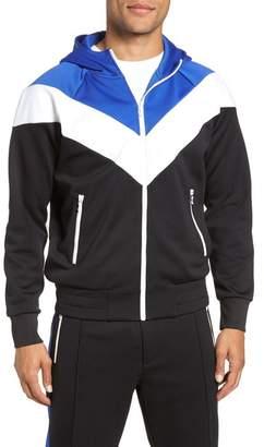 Rag & Bone Colorblock Full Zip Jacket