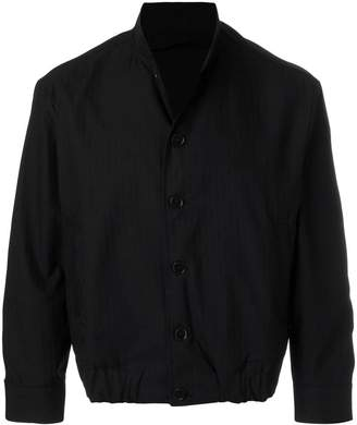 Piombo Mp Massimo classic fitted bomber jacket