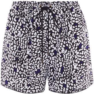 Karen Millen Leopard Print Shorts