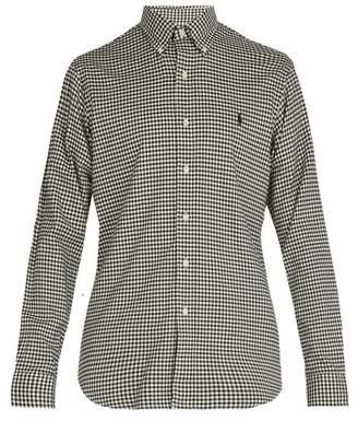 Polo Ralph Lauren Gingham Cotton Shirt - Mens - Black White